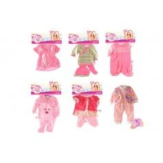 Oblečky/Šaty pro panenky 28cm asst