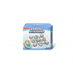 Kameny/piškvorky Mořská panna kreativní sada v krabičce 19x16x4cm