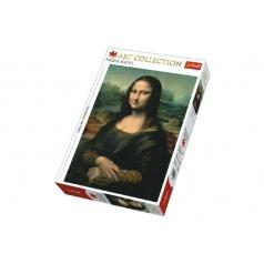 Trefl Puzzle Mona Lisa 1000 dílků 48x68cm v krabici 40x27x6cm