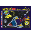 MERKUR - Stavebnice Merkur 015 Raketoplán, 195 dílů, 10 modelů