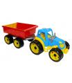 Rappa Traktor plastový s vlečkou