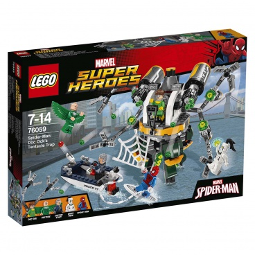 Lego Super Heroes76059 Spiderman: Past z chapadel doktora Ocka