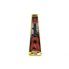 Teddies Gitara s trsátka plast 40cm asst 3 farby v krabici