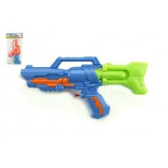 Teddies Vodní pistole plast 32cm asst 2 barvy v sáčku