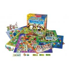Bonaparte Soubor her Večerníček společenská hra v krabici 32x37x7cm