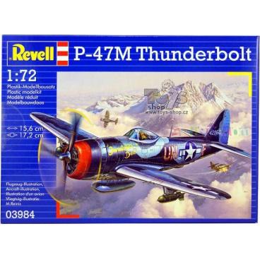 Revell Plastic ModelKit letadlo 03984 - P-47 M Thunderbolt (1:72)