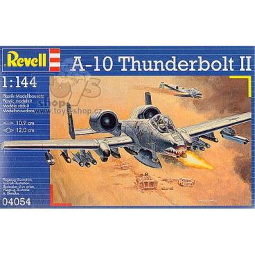 Revell Plastic ModelKit letadlo 04054 - A-10A Thunderbolt II (1:144)