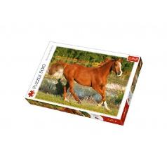 trefl Puzzle Kůň 500 dílků 48x34cm v krabici 40x27x4,5cm