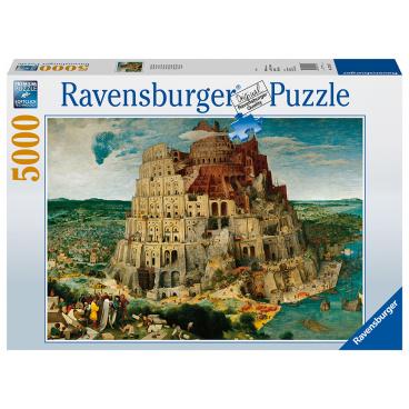 Ravensburger puzzle Babylonská věž 5000d