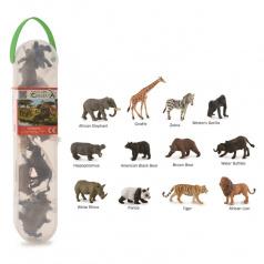 Collecta mac toys Divoká zvířata, 12 ks