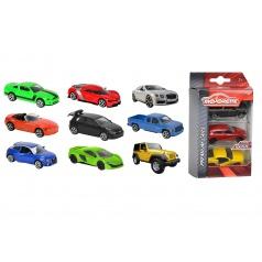 Majorette Autíčka kovová 3 ks Street Cars, 3 druhy