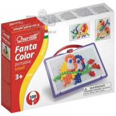 QUERCETTI dětská mozaika Quercetti Fantacolor Portable 100čt