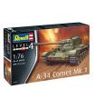 Revell Plastic ModelKit tank 03317 - A-34 Comet Mk.1 (1:76)