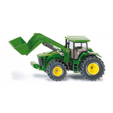 SIKU Farmer - traktor John Deere s předním nakladačem, 1:50