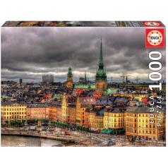 EDUCA 17664 Puzzle 1000 dílků - Stockholm