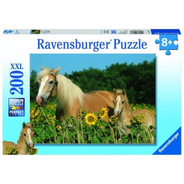 Ravensburger puzzle Koně na louce  200d