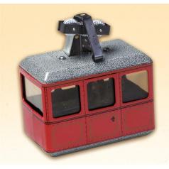Kovap 0621 Lanovka červená (plech) - kovový model