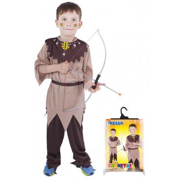 Rappa Dětský kostým Indián s páskem (S)