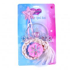 Rappa Sada princezna růžová s copem