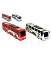 Wiky Autobus plast 35cm na setrvačník 2 barvy v blistru 10x12x37cm
