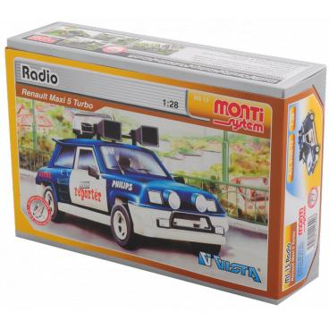 Monti System Stavebnice Monti 13 Radio Renault 1:28 v krabici 22x15x6cm