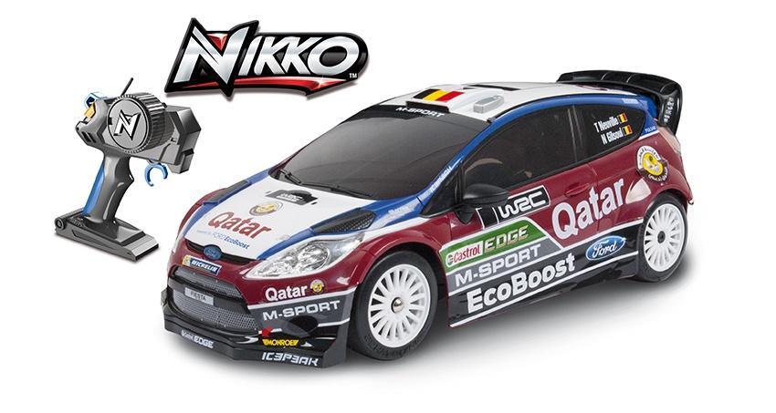 NIKKO RC auto na dálkové ovládání Fiesta RS WRC  1:16