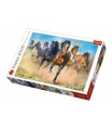 Trefl Puzzle Stádo koní 2000 dílků 96x68cm v krabici 40x27x6cm