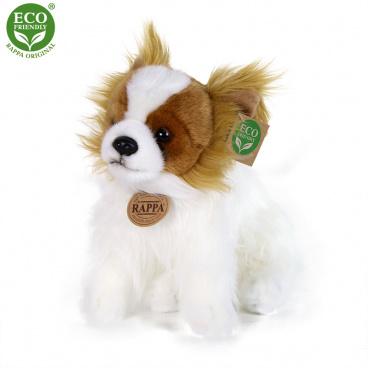 Rappa Plyšový pes čivava sedící 26 cm ECO-FRIENDLY