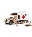 Cobi stavebnice II WW Ford V3000S Maultier Ambulance 525 k 2 f