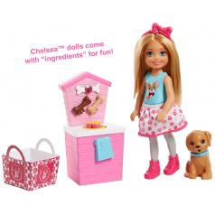 Mattel Barbie VAŘENÍ A PEČENÍ CHELSEA ASST FHP66