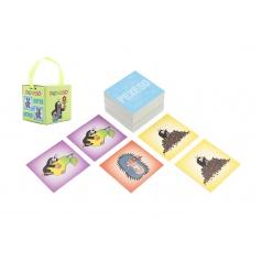 Akim Pexeso Krtek papírové společenská hra 32 obrázkových dvojic v papírové krabičce 6x6cm