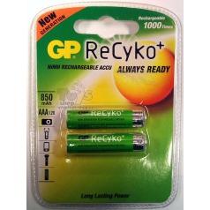 Nabíjecí Baterie aku RECYKO AAA mikrotužka cena za 1 kus