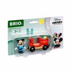 Brio 32282 Disney and Friends Lokomotiva Myšáka Mickeyho