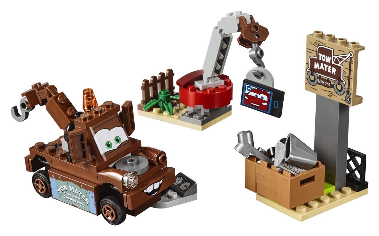 Lego Juniors 10733 Cars Burákovo smetiště