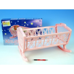Směr Kolébka bez soupravy plast 47x35x30cm v krabici 48x32x8cm - pouze žlutá