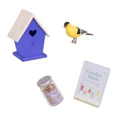 Our Generation Módní doplňky - Set s ptačí budkou