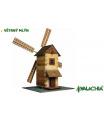 Walachia dřevěná stavebnice - Větrný mlýn