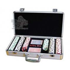 ALBI Poker casino v kufříku (300 žetonů)