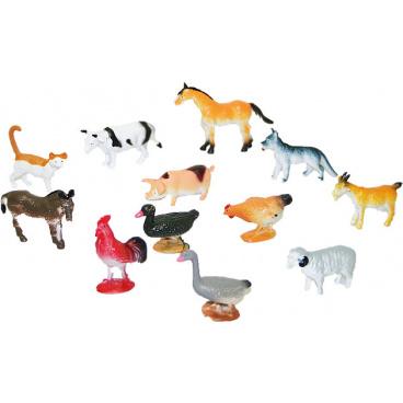 Rappa Zvířata domácí 12 ks v sáčku
