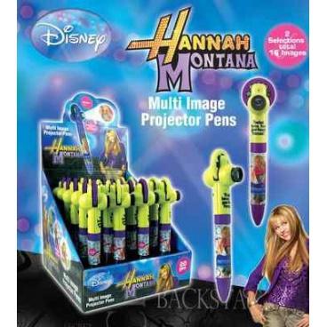 """Licence Only Propiska s promítačkou """"Hannah Montana"""". Minimální odběr display 20 ks"""