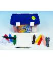 Mozaika Color Jumbo 167ks v plastové krabici 29x19cm