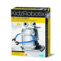 mac toys Robot z plechovky