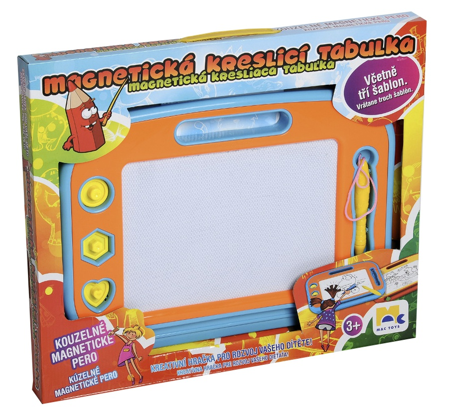 Dětská kreslící magnetická tabulka