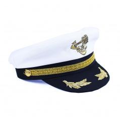 Karnevalová čepice námořník / kapitán, dospělá