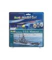 Revell ModelSet loď 65128 - Battleship U.S.S. Missouri (WWII) (1:1200)
