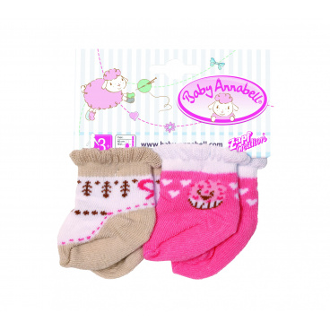 Zapf Baby Annabell Zapf Creation Baby Annabell® Ponožky, 2 druhy