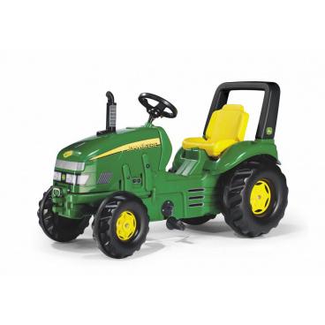 Šlapací traktor X-Trac John Deere - zelený