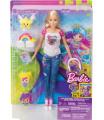 Mattel DTV 96 Barbie VE SVĚTĚ HER S EMOJI