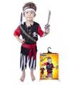 Dětský karnevalový kostým Pirát s šátkem velikost S