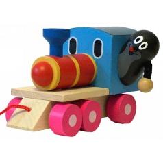 Detoa Krtko a lokomotíva
